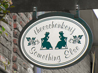 uithangbord theeschenkerij something else